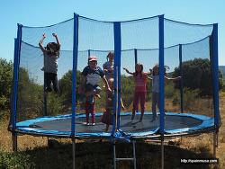 여름의 막바지, 스페인 가족이 모이는 방법