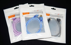 내구성 튼튼한 고속 충전 케이블 추천! 주파집(Jupazip) 갤럭시S8 USB-C 케이블 & 아이폰 라이트닝 3미터 매쉬 케이블