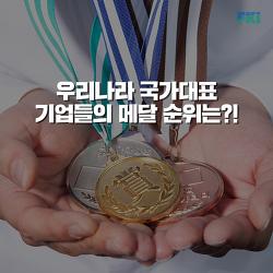 기업 올림픽이 있다면 우리나라는 몇 위일까?