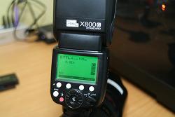 픽셀 X800C 스탠다드 캐논 스트로보 활용기