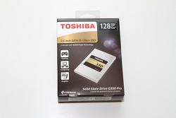 도시바 SSD Q300 Pro 128GB 벤치마크