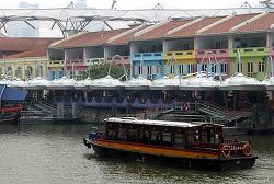 [싱가포르 여행기] 놀이동산 산책 같았던 한낮의 클락 키