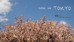 [東京3박4일] 살랑살랑 봄바람 좋은 4월에 만나는 도쿄