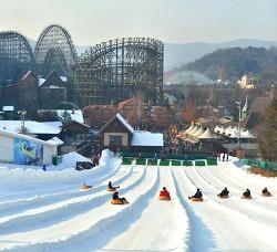 흰 눈 사이로∼ 썰매를 타고∼♪ 에버랜드 '스노우 버스터' 개장!
