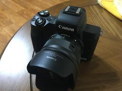 [카메라] 캐논 EOS-M50 미러리스 카메라 리뷰 및 한달 사용 소감