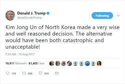 북-미 '말 전쟁'은 이제 마무리 단계에 접어들었다