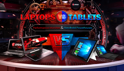 LAPTOPS VS TABKETS (랩탑 VS 태블릿) 비교 할인 이벤트