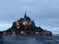 [버락킴의 파리 여행기] 14. 천공의 수도원 몽생미셸, 꿈엔들 잊으리오!
