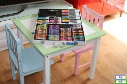 어린이원목책상 퍼스트 데스크, 예쁜 아동책상 의자 세트 추천