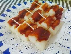 백종원 떡꼬치 소스 만들기, 양념치킨맛 나는  레시피!
