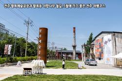 전주 팔복예술공장과 팔복동 이팝나무 철길, 5월에 가기 좋은 전주 여행코스