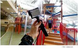 방수카메라 소니 액션캠 FDR-X3000, 오션월드 사용후기