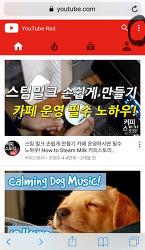스마트폰(모바일)으로 유튜브레드 해지(취소)하는법 Youtube Red Unsubscribe