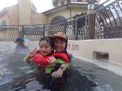 시베리아 강추위도 따뜻하게 녹여 버릴~ 따뜻한 캐리비안 베이 방문기!