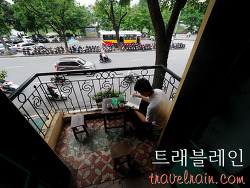 [하노이 카페] 에그 커피를 마실 수 있는 로컬 커피숍 cafe dinh