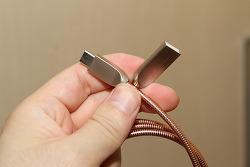 오토존 메탈릭스 C타입 USB-C 고속충전케이블 사용기