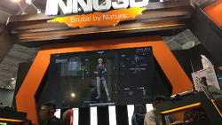 2018 Computex INNO3D.(sound ON)
