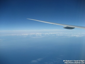 뉴욕을 떠나며 - 대한항공 KE082