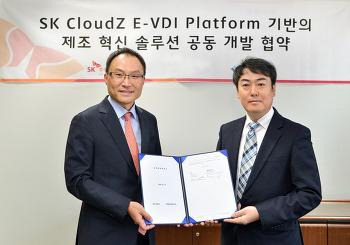 SK㈜ C&C, '에이피솔루션즈'와 'Cloud Z E-VDI 플랫폼 기반의 제조 혁신 솔루션 공동 개발 협약' 체결