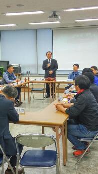 노회찬, 공무원노조 경남본부 운영위원회 간담회 참석