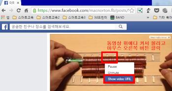페이스북 영상 쉽게 다운로드 받는 방법