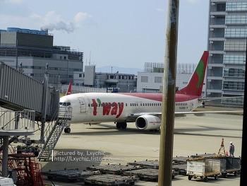 170310 티웨이항공 TW284 오사카/간사이(KIX) → 서울/인천(ICN) 탑승기
