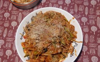 서울 한밥상 하숙집: 아침 공지 - 오늘 저녁 아구찜!