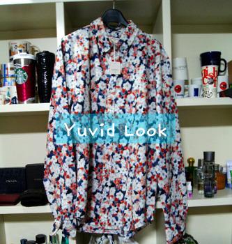 [YuvidLook 구매보고서] 2016fw화려한  클럽모나코 플로랄 셔츠