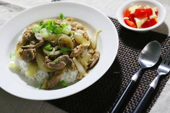 든든한 한 그릇 음식! 부타동 만들기 (일본식 돼지고기덮밥) [동영상레시피]