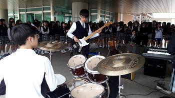 제천제일고 '게릴라 콘서트'로 즐거운 학교 만들기