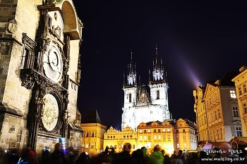[체코여행] 낭만적인 프라하의 밤! 하지만 야경이 아름다운건 아니다.