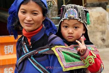 다랑논과 더불어 살아온 하니족 마을 징커우