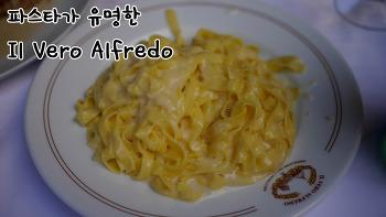 로마에서 방문한 파스타 맛집 Il Vero Alfredo(알프레도) 에서 맛보는 원조 파스타