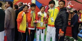 부탄, 제12회 남아시아게임서 메달 16개 획득··· '태권도' 종목 동메달 9개