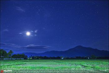 태국 치앙마이 달 밝은 밤 싼캄펭에서 개들과 함께.../ San Kamphaeng, Chiang Mai