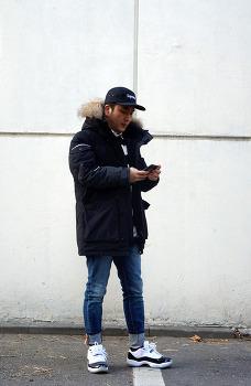 남자 패딩 추천 브랜드 롱패딩은 스위브 패션블로그 쿨민