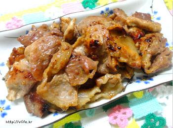 냉면과 함께 먹기 좋은 고기 쉽게 만드는법, 육쌈냉면 흉내내기