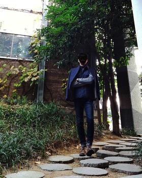 2016 남자 겨울 코디 패션 [마인드브릿지] 자켓 & 베스트 : 남자 퀼팅 조끼 (베스트) 및 남자 헌팅 자켓 코디