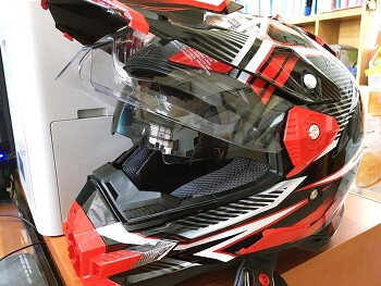 CRF250 Rally] THH TX27 헬멧