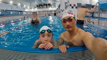 수영복 구입기념 자유수영 (2017.06.10)