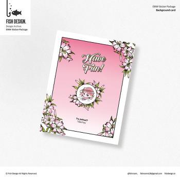 photo card / background card