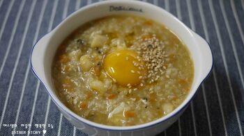 맛과 영양 모두 만족스러운 백종원 레시피로 전복죽 끓이는법