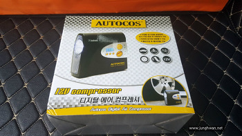 디지털 에어컴프레셔 (차량 및 튜브 등)