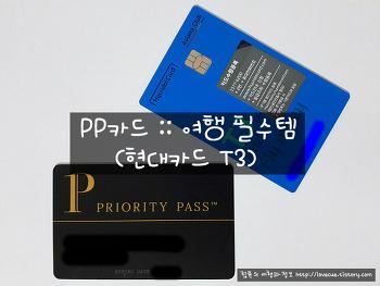 PP카드 :: 여행 필수템 (현대카드 T3)