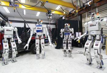 로봇 '휴보' 평창 동계올림픽 성화 봉송 주자로 뛴다