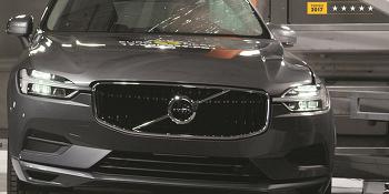 신형 볼보 XC60, ANCAP 안전도 평가서 최고안전등급 획득