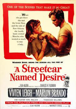 욕망이라는 이름의 전차 (A Streetcar Named Desire, 1951)