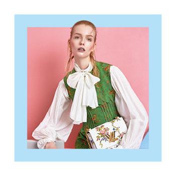 화려한 봄, 루이 비통 2018 S/S 컬렉션