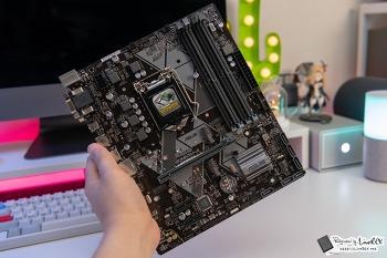 가성비 인텔8세대 메인보드 ASUS PRIME B360M-A 코잇 후기