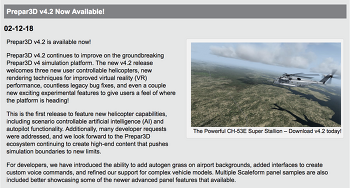 [NEWS]비행 시뮬레이션(Flight simulation) 업데이트 뉴스 및 애드온 정보들 (P3D 4.2, X-plane 11.25, Aerofly FS2, FSW, Qualitywings 787, FSlabs, Active Sky for X-Plane)